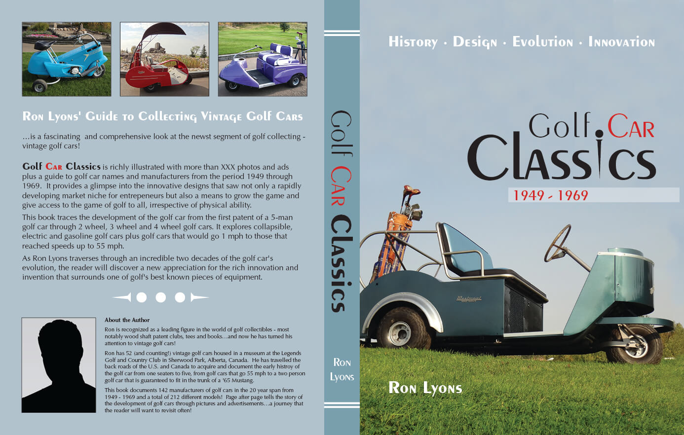 Legends Golf Car Book Cover
