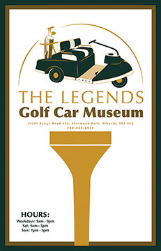 Legends Golf Museum Poster