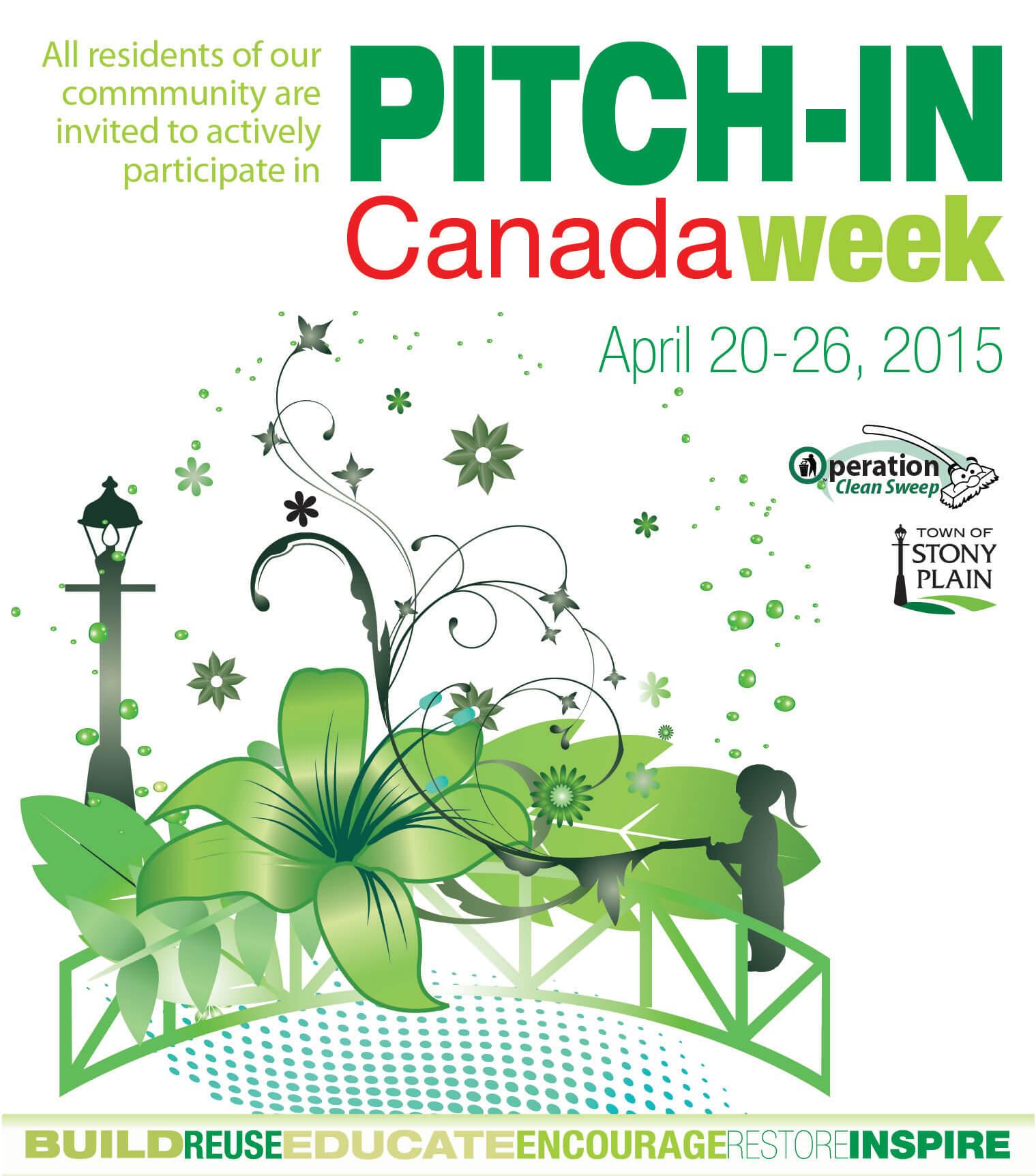 Pitch in Canada Week